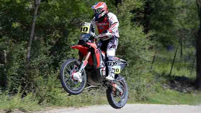 Dakar 2014 Honda start strong