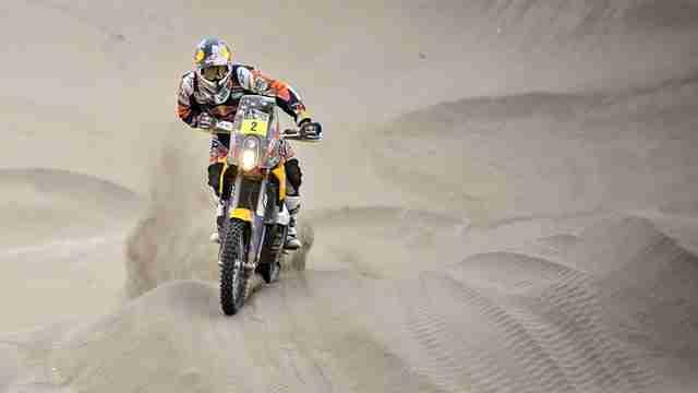 Dakar 2014 KTM Stage 10 update marc coma