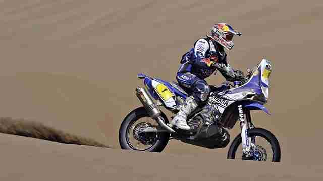 Dakar 2014 Yamaha Stage 10 cyril despres