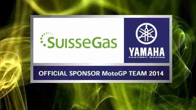 SUISSEGAS official sponsor Yamaha MotoGP team