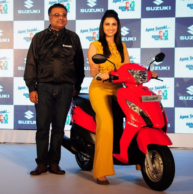 new suzuki lets scooter New Suzuki Gixxer motorcycle and Lets scooter launched
