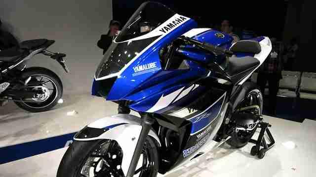 auto expo 2014 - yamaha preview