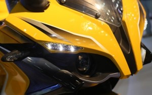 new pulsar ss400 auto expo 2014 photographs