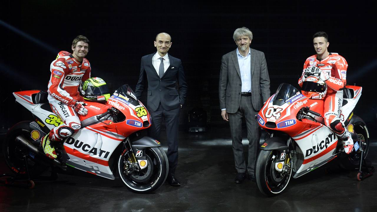 2014 Ducati MotoGP team and livery