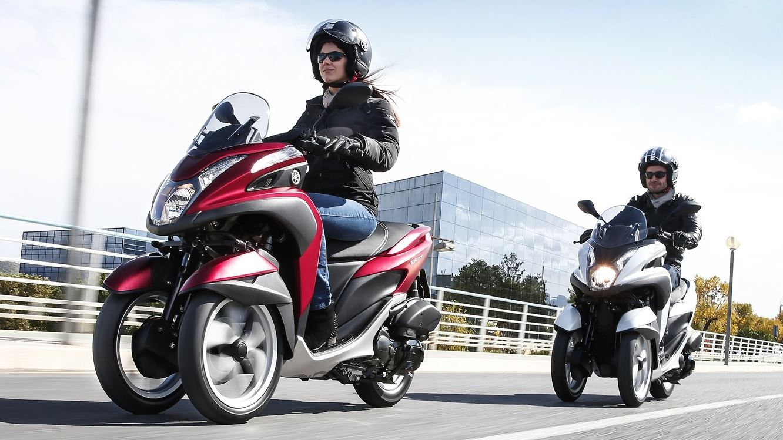 2015 Yamaha Tricity Unveiled