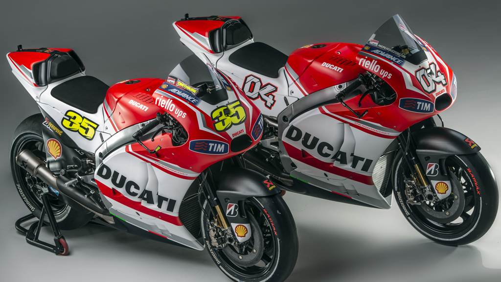 Ducati Desmosedici GP14 Technical Specifications