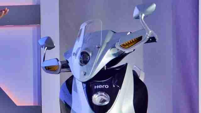 Hero Leap head light