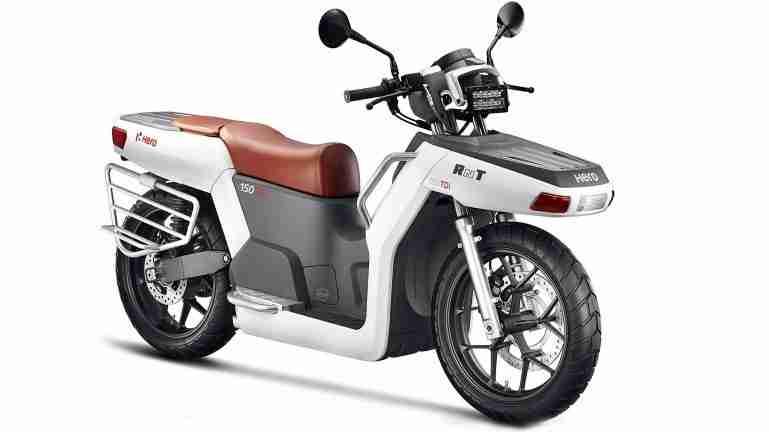 Hero RNT Diesel motorcycle concept details