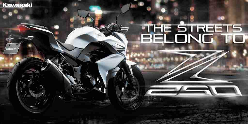 Kawasaki Z250 India launch