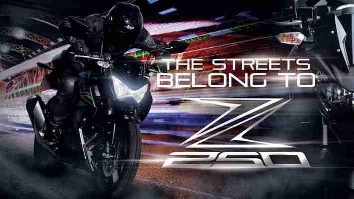 Kawasaki Z250 India launch soon