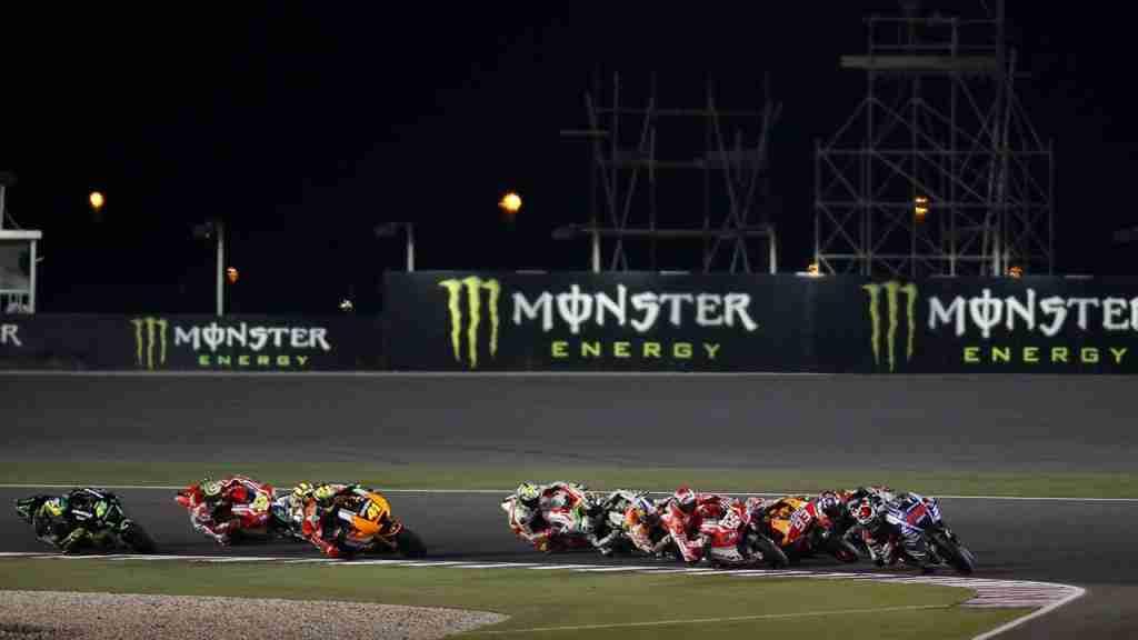 MotoGP Opening lap