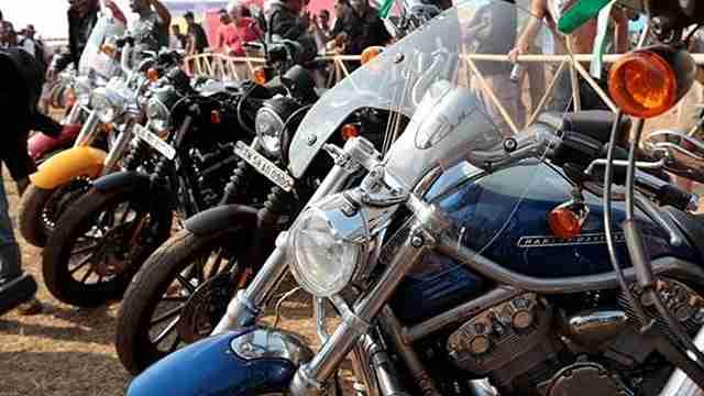 Third Western H.O.G. Ride to Udaipur begins