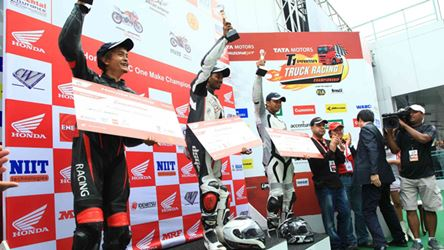 Winners of Honda One Make Race- Round 1 results