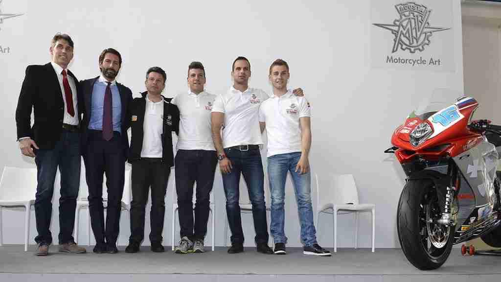 Yakhnich Motorsport MV Agusta WSBK WSS team presentation