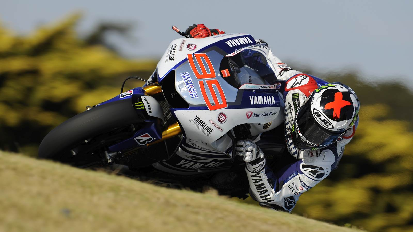 jorge lorenzo Bridgestone MotoGP tyre test at Phillip Island report
