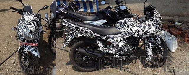 New 2014 Bajaj Discover 150 with fairing