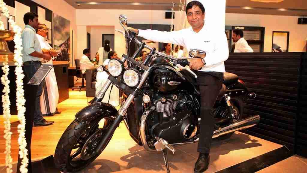 triumph motorcycles kochi