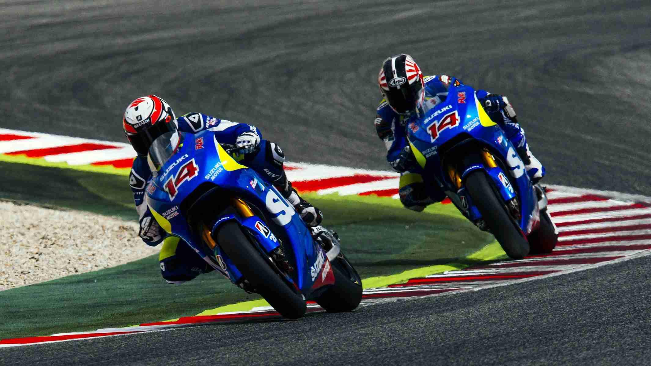 Suzuki MotoGP randy de puniet