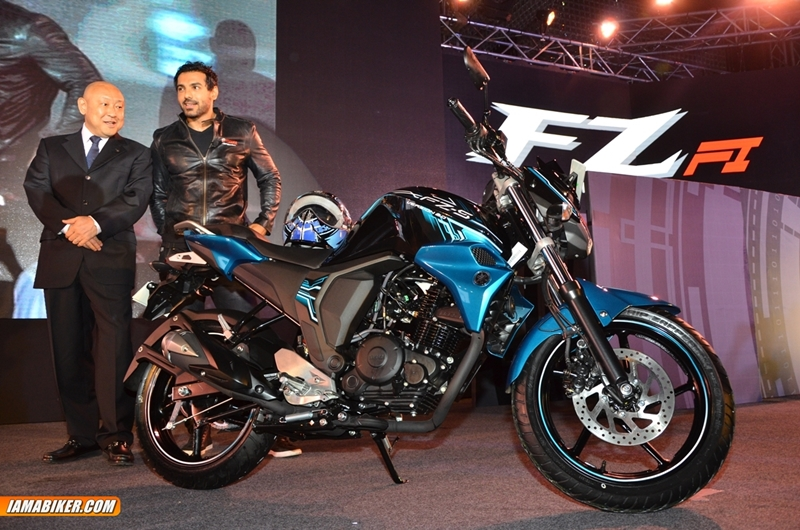 new yamaha fz fz-s 2.0 with FI launched