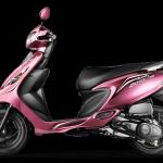 tvs scooty zest colour – pink