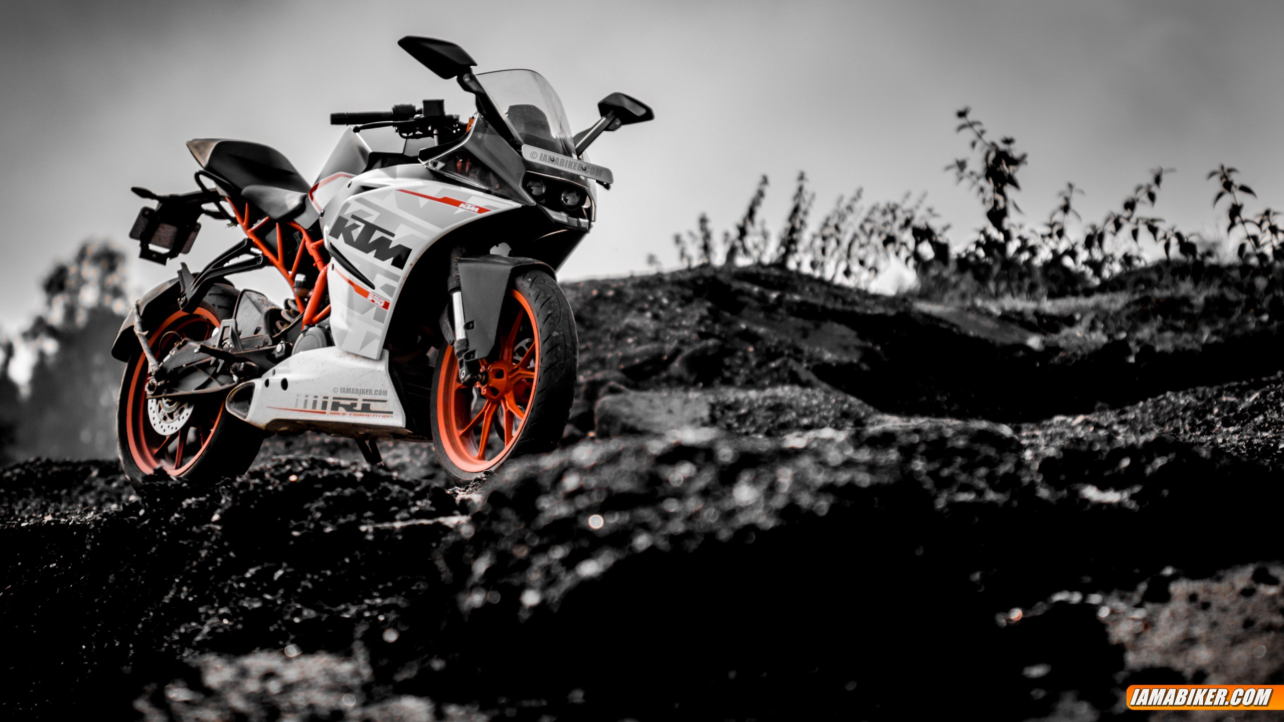 Ktm Rc 390 Hd Wallpapers Iamabiker Everything Motorcycle