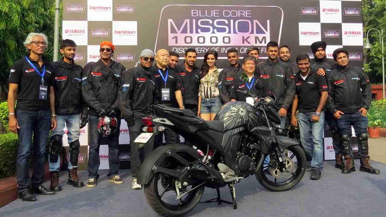 Yamaha's Mission 10000km