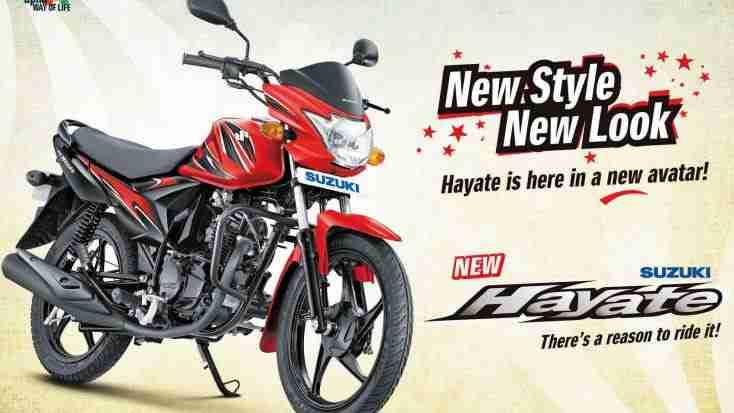 new Suzuki Hayate
