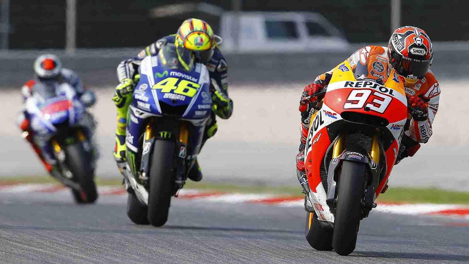 Marc Marquez wins at MotoGP Sepang