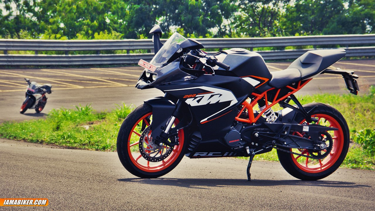ktm rc200 review