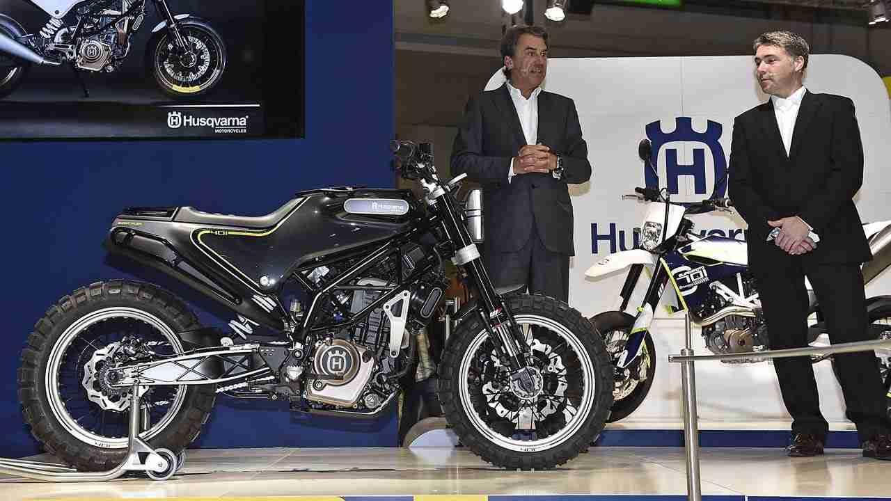 Husqvarna present new road going motorcycles