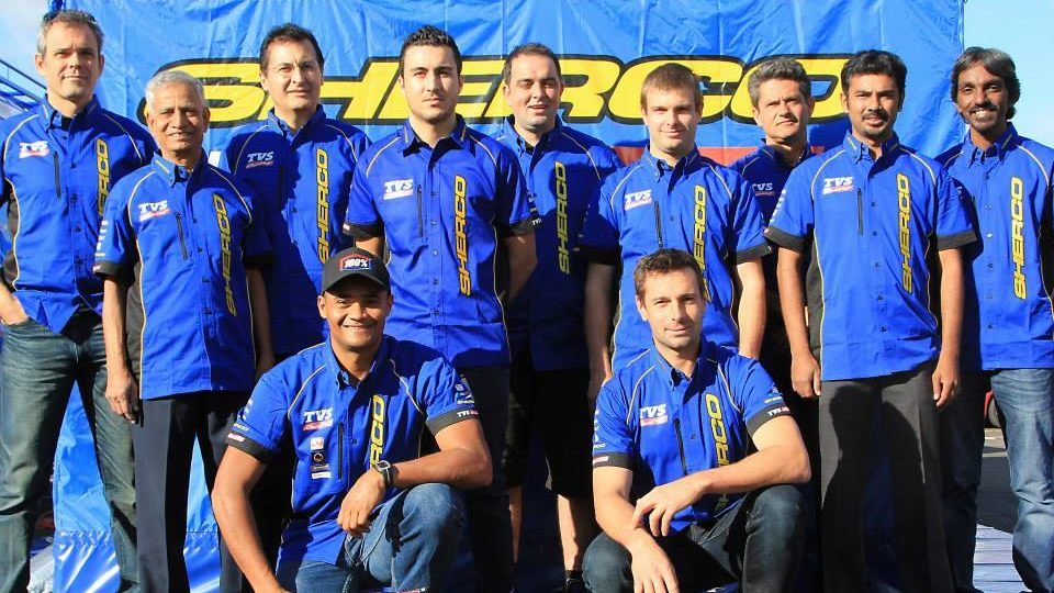 Sherco TVS Rally Factory team