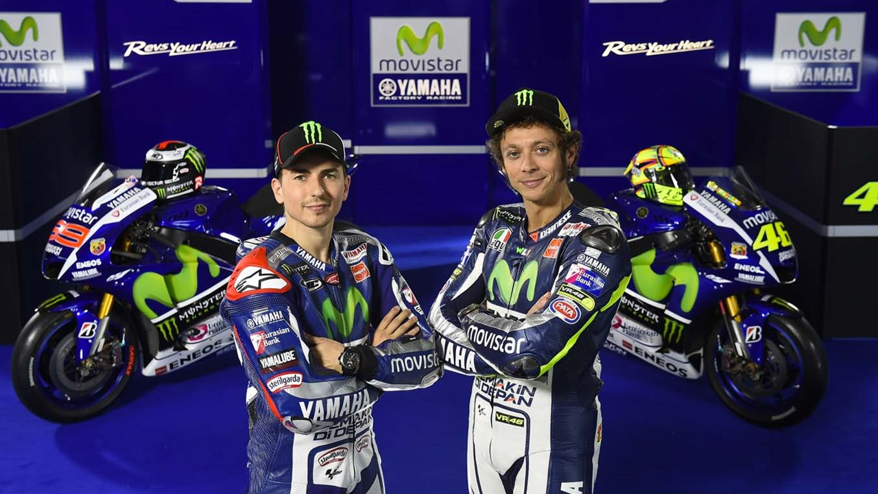 2015 Yamaha MotoGP livery
