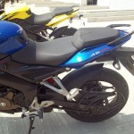 new pulsar 200 AS side view
