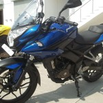 new pulsar 200 as front view