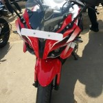 new pulsar ss 400 front view
