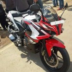 new pulsar ss 400 red colour