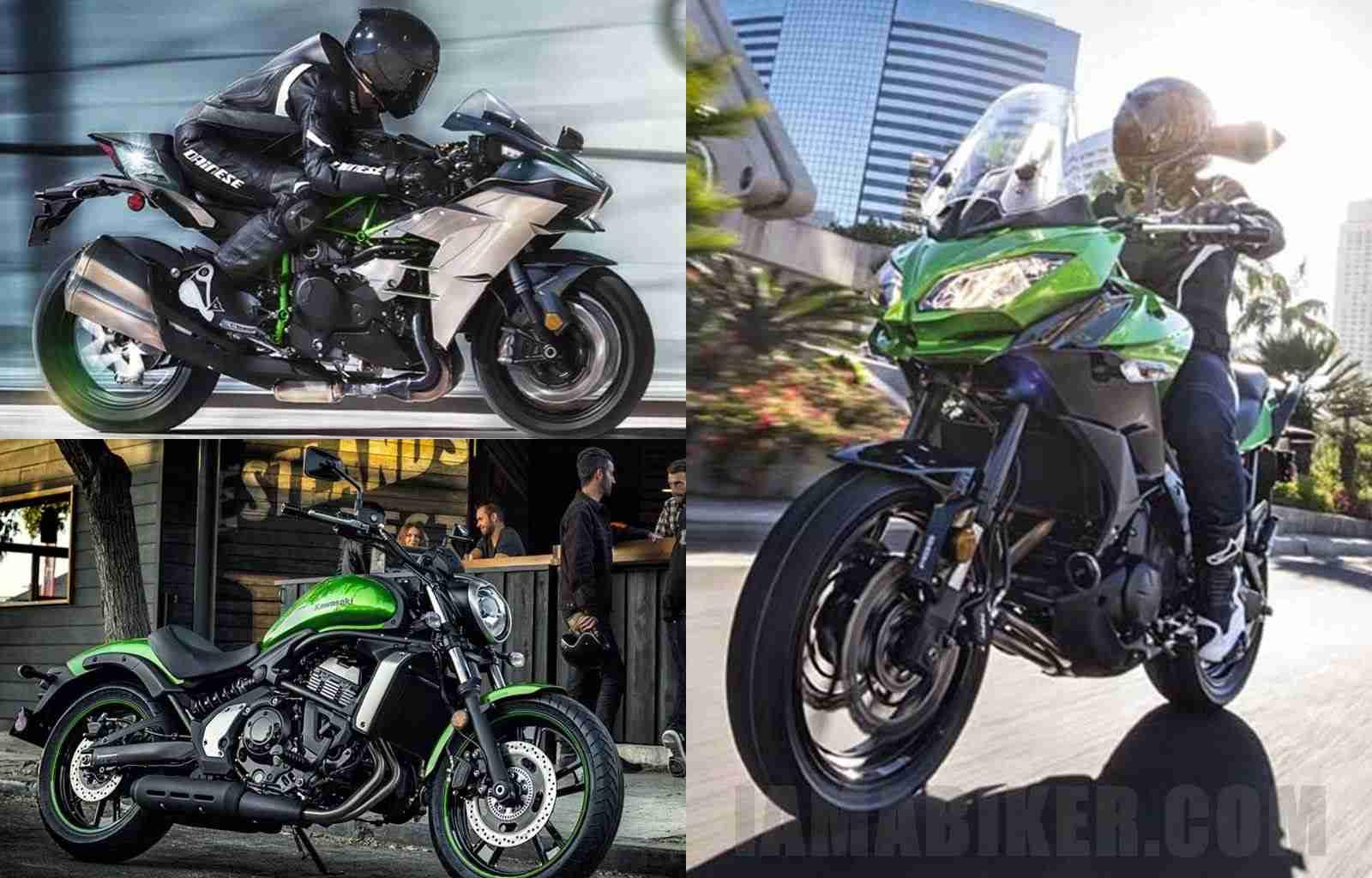 2015 Kawasaki launches