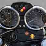 2015 Moto Guzzi V7 II Stone instrument console - meters
