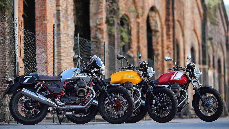 2015 Moto Guzzi V7 II for India