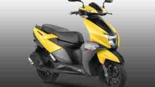 TVS Ntorq scooter