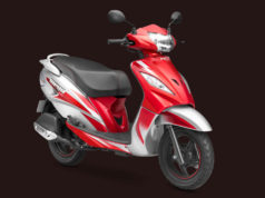 TVS Wego 110 scooter