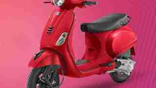 Vespa Urban club scooter