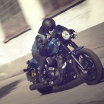 2015 Yamaha XV950 Racer – blue