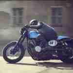 2015 Yamaha XV950 Racer – riding
