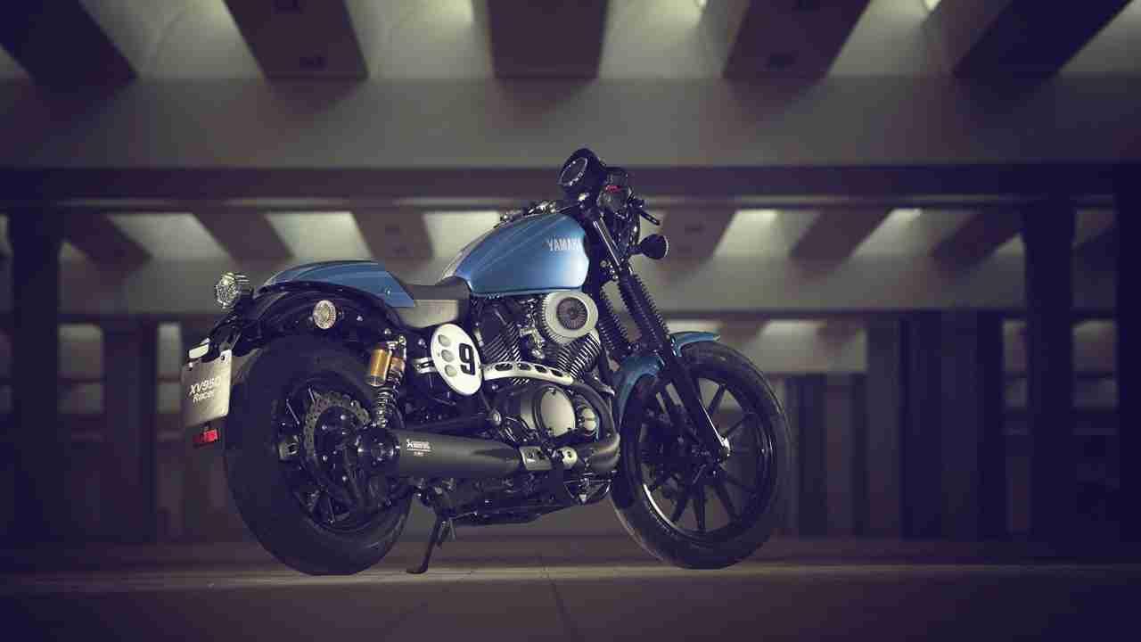 2015 Yamaha XV950 Racer - static back