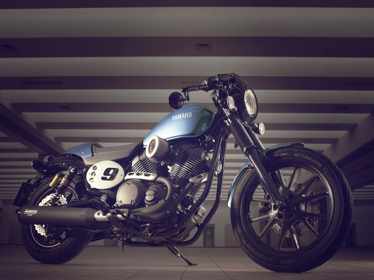 2015 Yamaha XV950 Racer blue