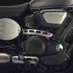 2015 Yamaha XV950 Racer Matt Grey engine