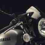 2015 Yamaha XV950 Racer Matt Grey headlight
