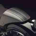 2015 Yamaha XV950 Racer Matt Grey rear seat cowl