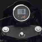 2015 Yamaha XV950 Racer Matt Grey speedometer